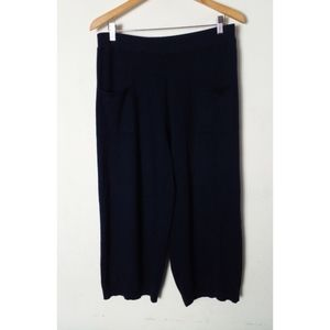 Anthropologie Sparrow Pull On Lounge Pants Size S Blue